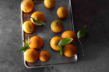oranges on table