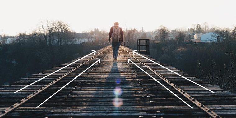man walking on dock